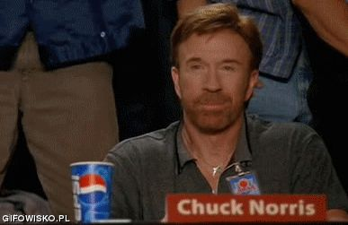 Chuck Norris aproves